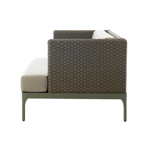 ETHIMO Infinity 3-Sitzer Loungesofa