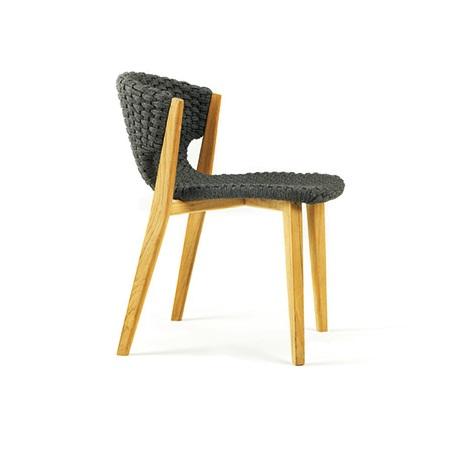ETHIMO Knit Stuhl ohne Armlehne