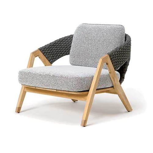 ETHIMO Knit Lounge Armlehnstuhl