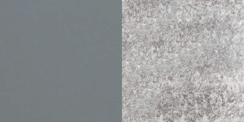 Aluminium Grey + Lava Stone Opaque White