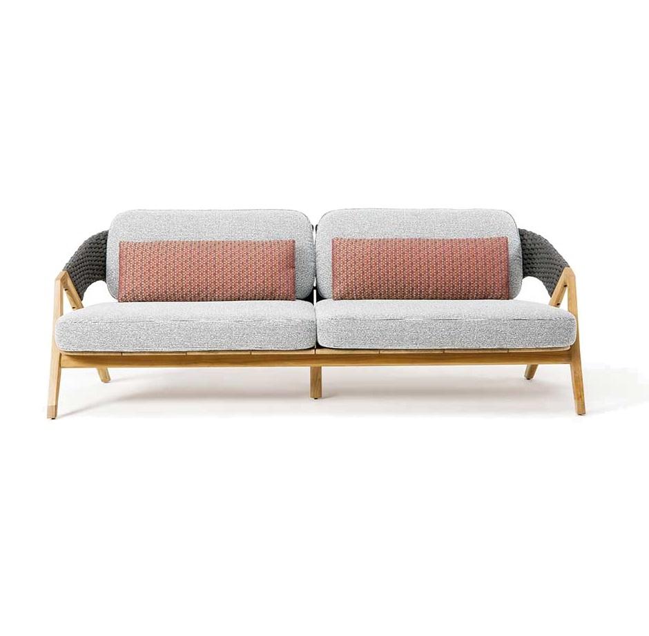 ETHIMO Knit 3-Sitzer Sofa