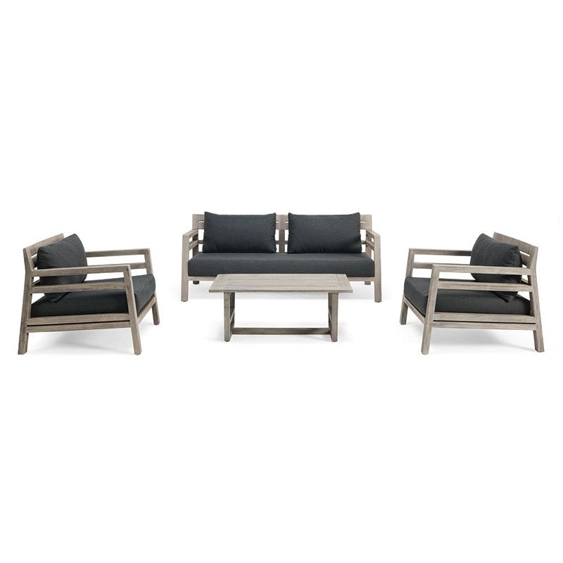 ETHIMO Costes 3-Sitzer Loungesofa