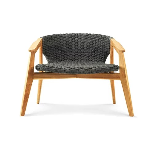 ETHIMO Knit Lounge Lehnstuhl